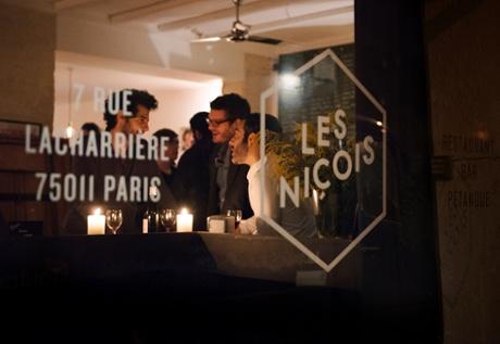 Les Niçois, Paris