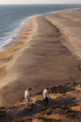 Beach at Nazaré.