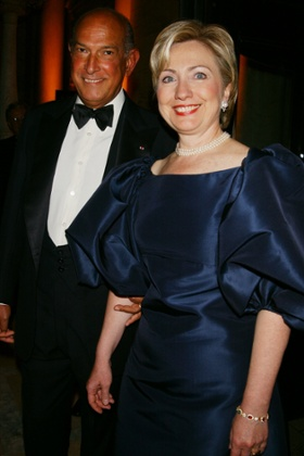 Hillary Clinton and Oscar de la Renta