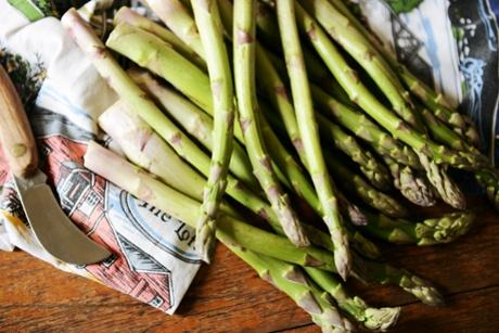 Asparagus -season's eatings