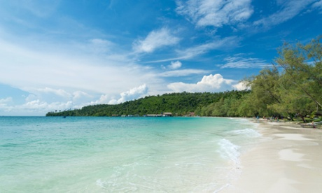 The island of Koh Rong, southern Cambodia.