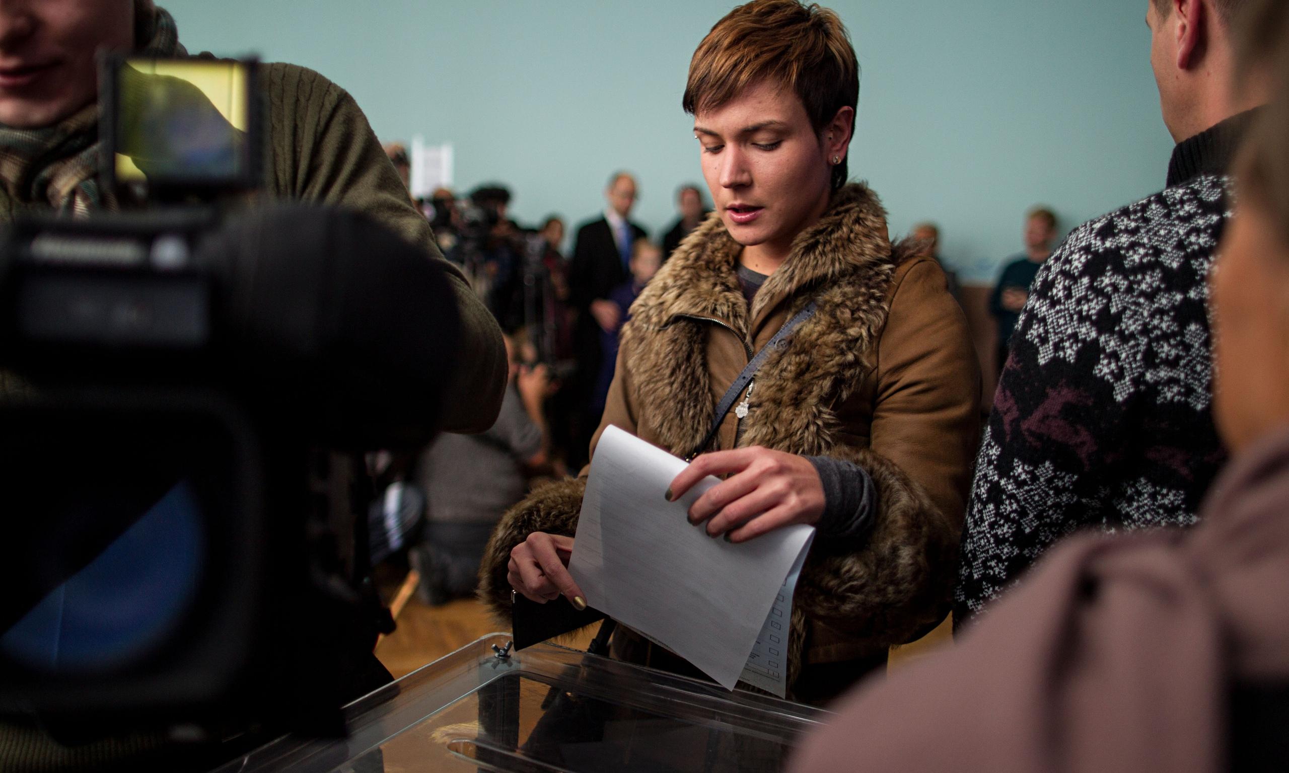 Ukrainian Women Voter 52