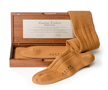 £495 Vicuna socks by Falke