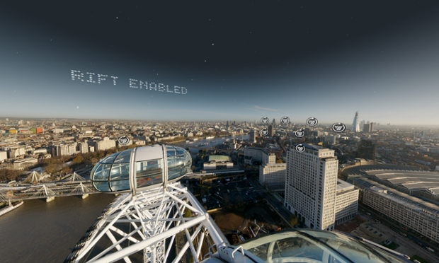 virtual London Eye