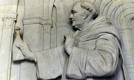 Dom Perignon sculpture