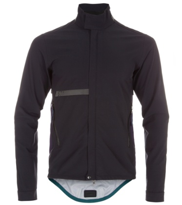 Paul Smith's weatherproof cycling jacket.