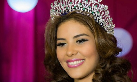 Maria Jose Alvarado, the Miss Honduras winner and Miss World entrant, who disappeared after attending a birthday party in Santa Barbara, northern Honduras.