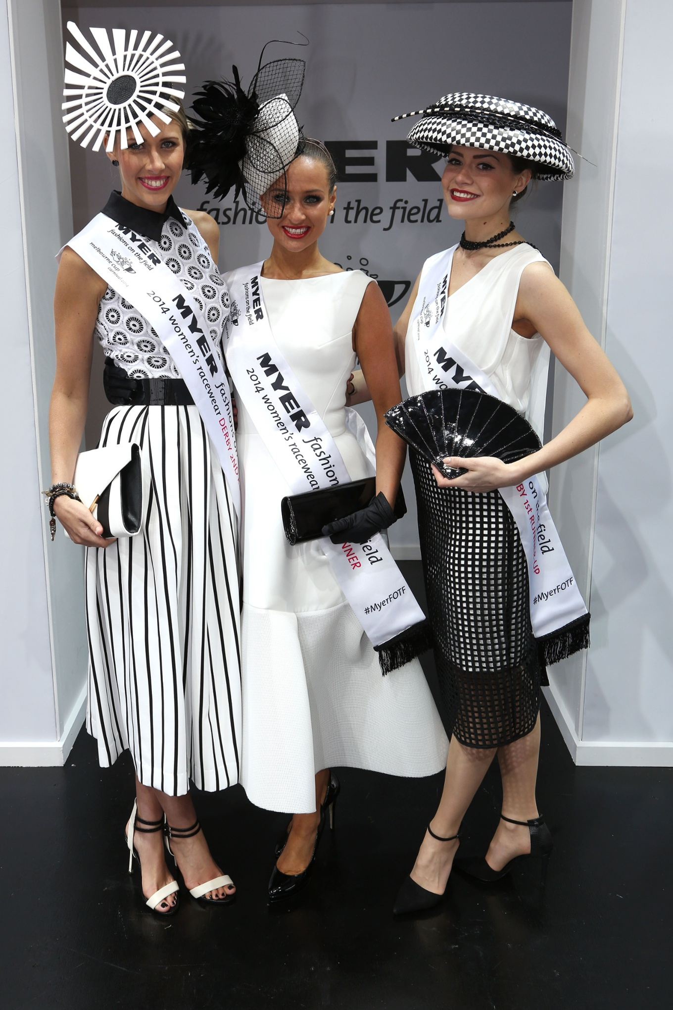 Melbourne Cup fashion 2014 Derby Day hats in pictures