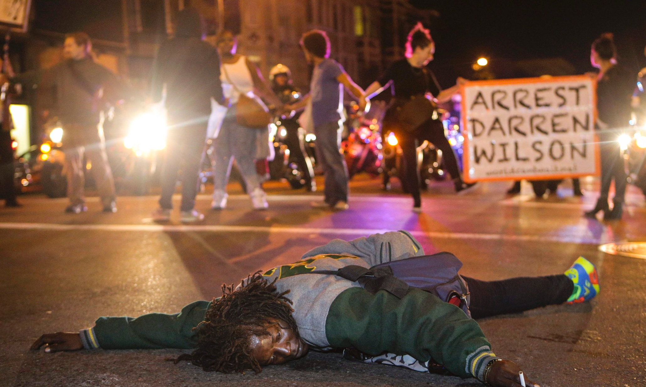 black friday protests highlight police violence as well as