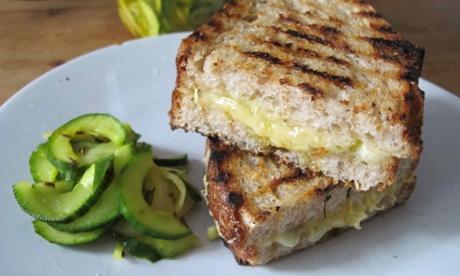 Nicholas Balfe' grilled cheese sandwich