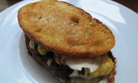 Daniel Doherty's grilled cheese sandwich