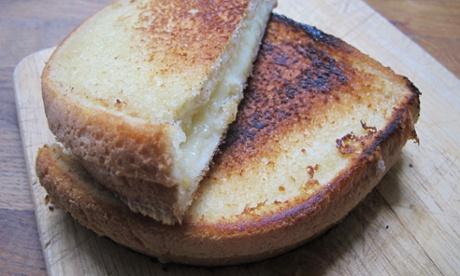 Gabrielle Hamilton's grilled cheese sandwich.