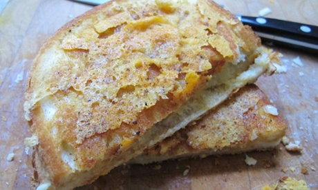 Jamie Oliver's grilled cheese sandwich