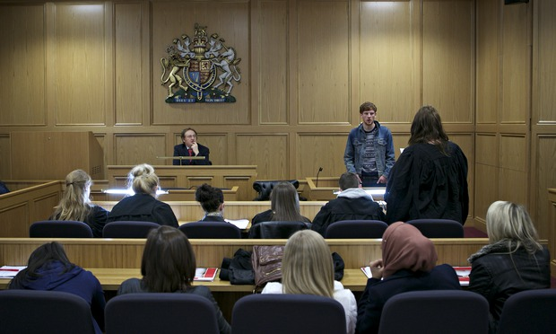 Law Students Get Down To Business Education The Guardian