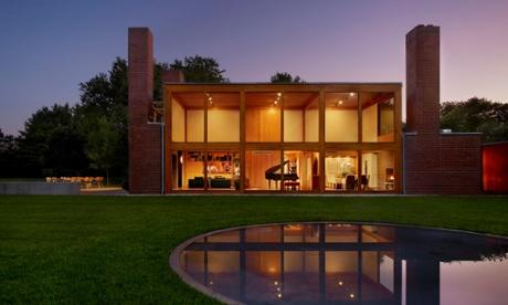 Louis Khan's Steven and Toby Korman House, Pennsylvania.