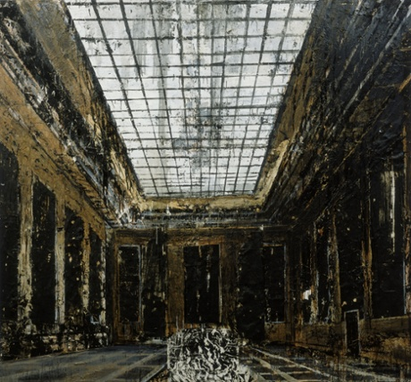 Anselm Kiefer's Interior (1981).