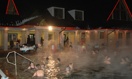 Oravice thermal spa, Slovakia