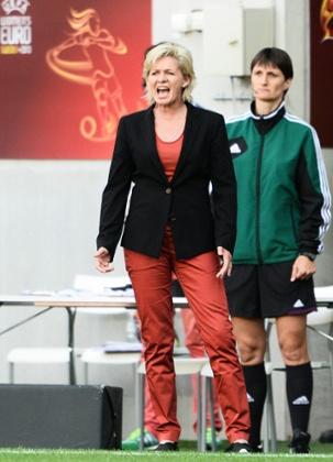 Germany's coach Silvia Neid