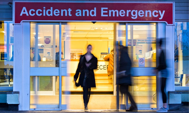The problems in the emergency department of services
