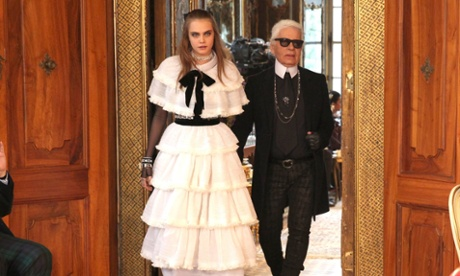 Cara and Karl … BFFs?