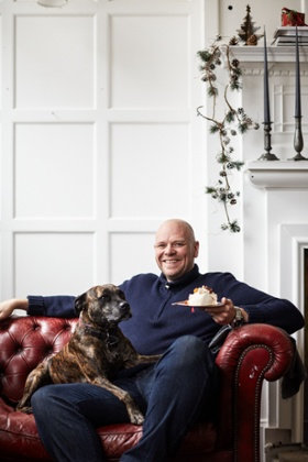Tom Kerridge: 'You might think I'd have had enough of the kitchen when it comes to my rare days off. But not a bit of it - especially not at Christmas!'