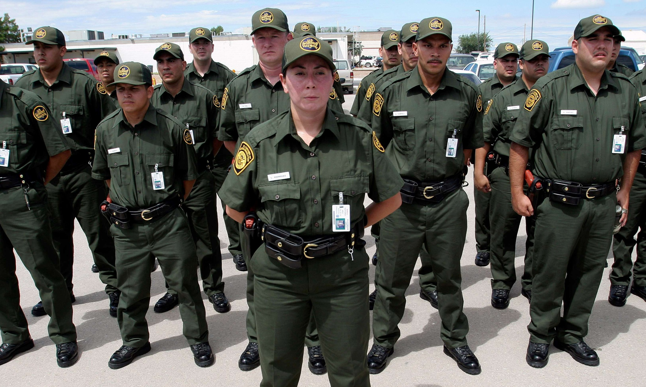 Dating a border patrol agent