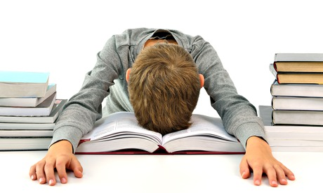 I am too tired to do my homework