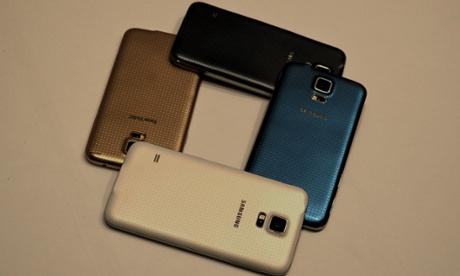 Samsung Galaxy S5 coloured backs