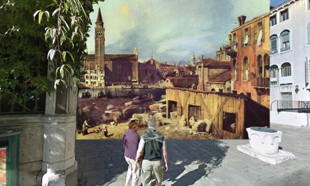 Venice - Canaletto - The Stonemason's Yard 1726-30(1)