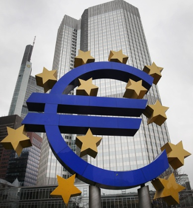 The European Central Bank in Frankfurt/Main, Germany. Photo: Daniel Roland/AFP/Getty Images