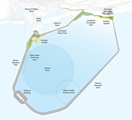 £850m Swansea Bay lagoon