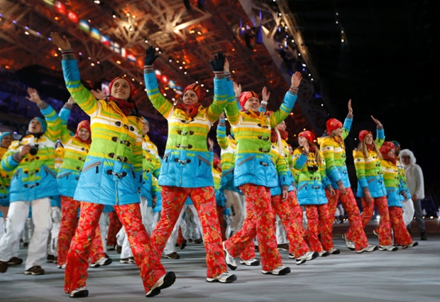 2014 Sochi Olympic Costume Ideas: 2014 Sochi Winter Olympics – In Pictures