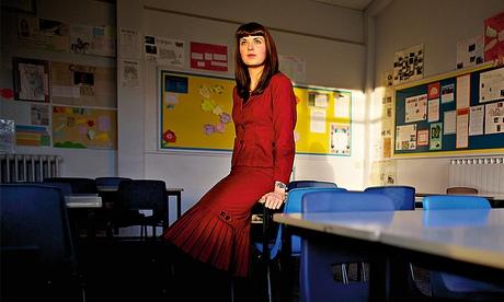 English teacher Sarah Cumberlidge