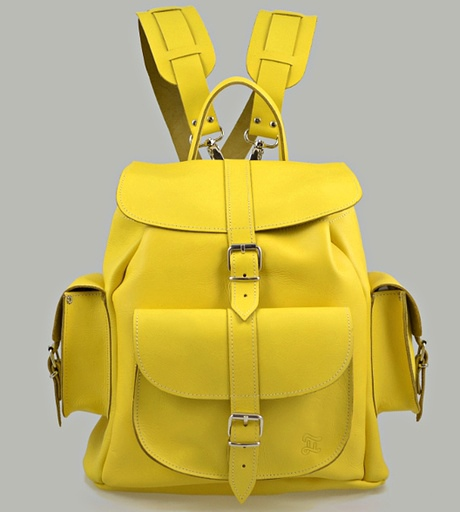 Spring fashion: rucksack