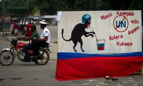 UN cholera Haiti