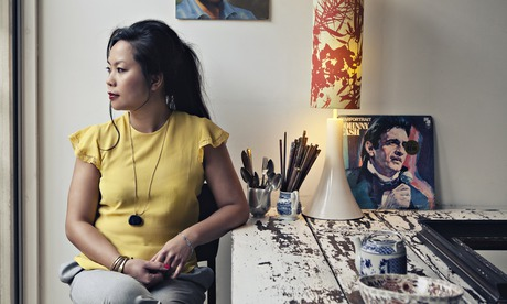Uyen Luu photographed at home in Hackney, London