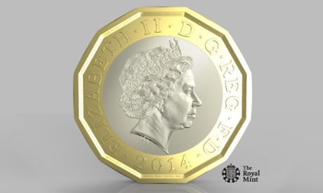 Britain's new £1 coin will be the same shape as the pre-decimal threepenny bit.