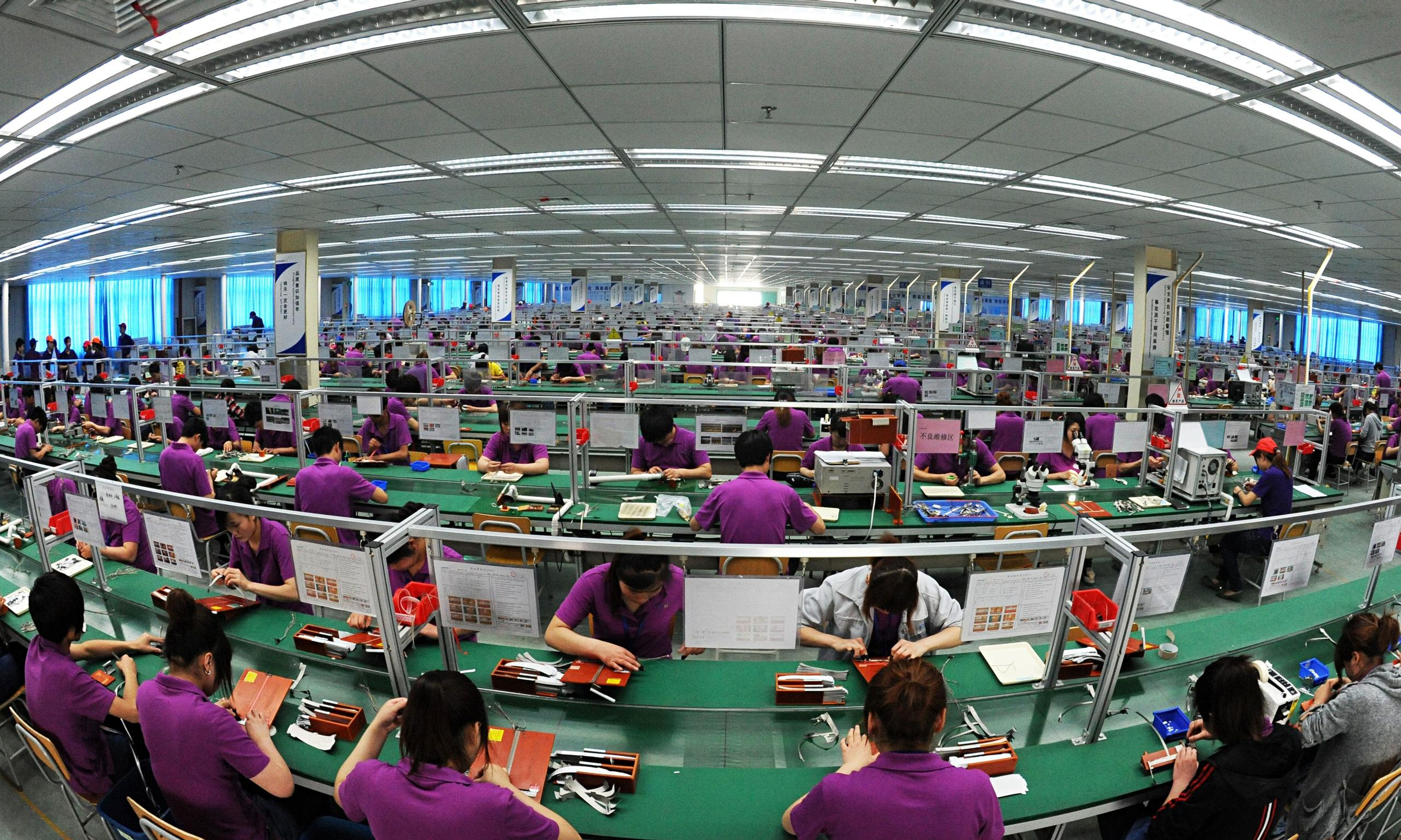 Fear Of Slowdown In Us And Eurozone As China S Factories