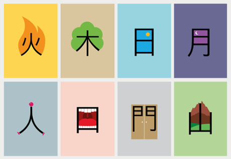 Designs For Learning Chinese Characters Life Moves