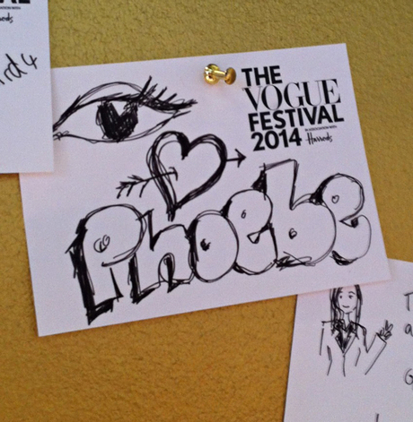 Fans of the designer pinned heartfelt doodles to comment boards.