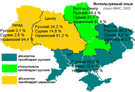 New Cameroon Views Blog The Language Composition Of Ukraine As A - Cameroon language map