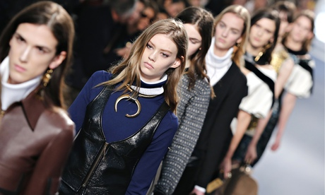 Nicolas Ghesquière's first collection for Louis Vuitton at Paris fashion week