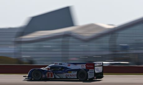 Toyota LMP1 at Silverstone