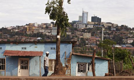 The changing skyline of Kigali. Rwanda has experienced a sustained period of stability and rapid eco