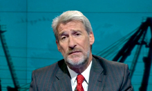 Jeremy Paxman with a beard.