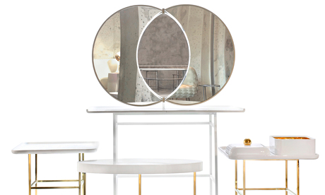Olympia Vanity Table by Nika Zupanc for Sé