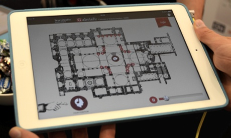 Intelligent Headset audio tour