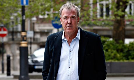 jeremy clarkson arriving at bbc studios