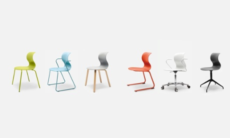 Dynamic sitting … the Pro chair is designed to encourage movement in the sitter.
