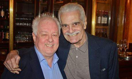 Omar Sharif and Jim Sheridan Dublin Arabic film festival